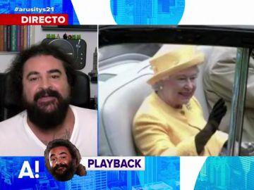 La crítica de El Sevilla a la mano postiza de la reina Isabel II