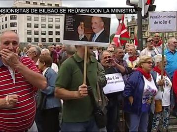 """El descontento de los pensionistas ante el rechazo del Gobierno de poner una pensión mínima de 1.080 euros: """"Vamos a seguir movilizándonos"""""""