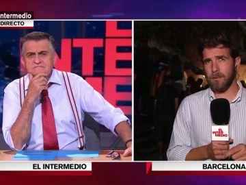 """Gonzo lanza una pregunta incómoda a Wyoming: """"Si hubieras estado en Cataluña en el 1-O, ¿habrías ido a votar?"""