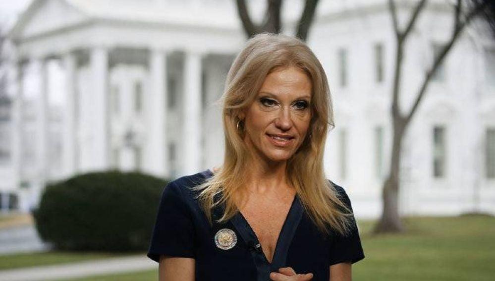 La asesora de la Casa Blanca Kellyanne Conway