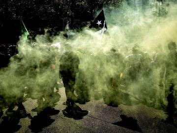 Centenares de activistas convocados por los Comités de Defensa de la República