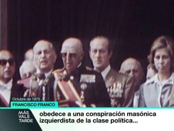 """El último baño de masas de Franco se organizó un 1 de octubre: """"Todo obedece a una conspiración masónica izquierdista"""""""