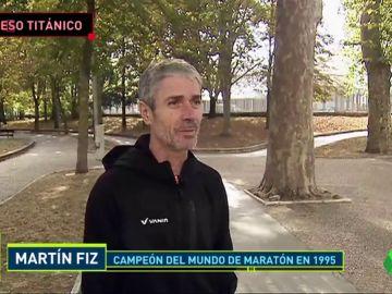 """Martín Fiz cuenta cómo ocurrió su atropello: """"La primera vez en 20 años que estoy parado más de diez días"""""""