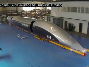 Cinco toneladas, 32 metros y preparada para alcanzar los 1.220 kilómetros por hora: así es la cápsula en la que viajaremos en el futuro