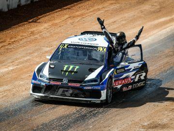 Un Johan Ktistoffersson inconmensusrable se proclama bicampeón del Mundo de RallyCross