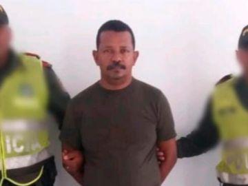 Adolfo Arrieta, detenido por el asesinato de la niña Génesis Rúa