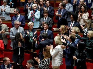 El ex primer ministro francés y candidato a la alcaldía de Barcelona Manuel Valls