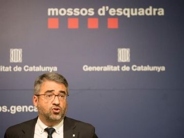 El director de los Mossos d'Esquadra, Andreu Joan Martínez
