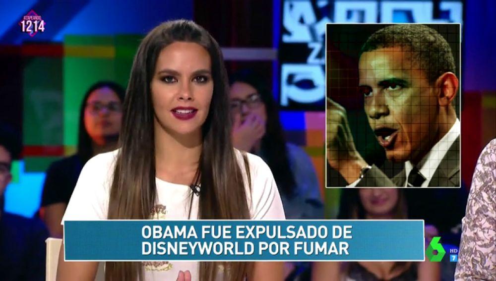 Cristina Pedroche y Obama