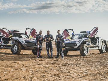Carlos Sainz, Stéphane Peterhansel y Cyril Despres fichan por MINI para el Dakar 2019