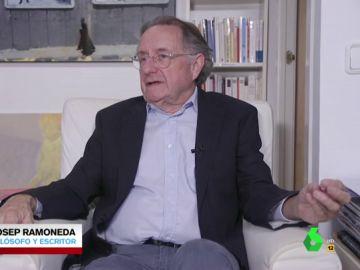 """Josep Ramoneda analiza los vaivenes de Torra: """"La carta a Sánchez es una expresión de impotencia. Ni tiene autoridad, ni tiene proyecto"""""""