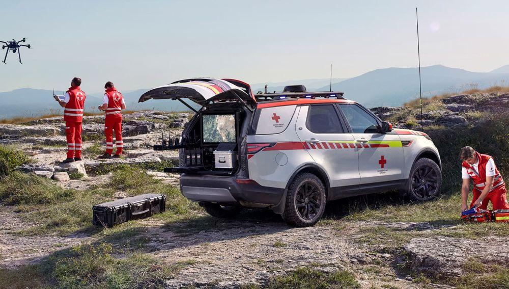 Land Rover crea el Discovery de salvamento definitivo