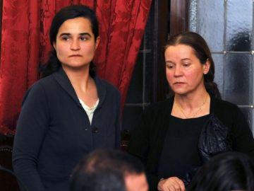 Montserrat González y su hija Triana Martínez