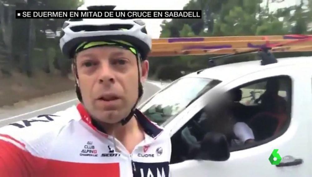 La denuncia viral de unos ciclistas