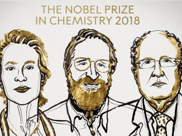 Arnold, Smith y Winter, premio Noblel de Química
