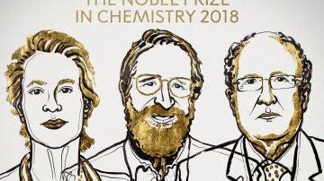 Arnold, Smith y Winter, premio Noblel de Química