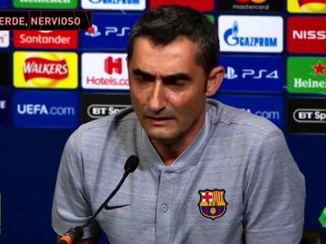"""Valverde, nervioso antes de visitar Wembley: """"Ya sabemos cómo es esto, siempre hay voces discordantes y cuando pierdes más"""""""