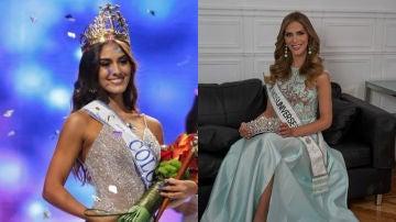 Miss Colombia y Miss España