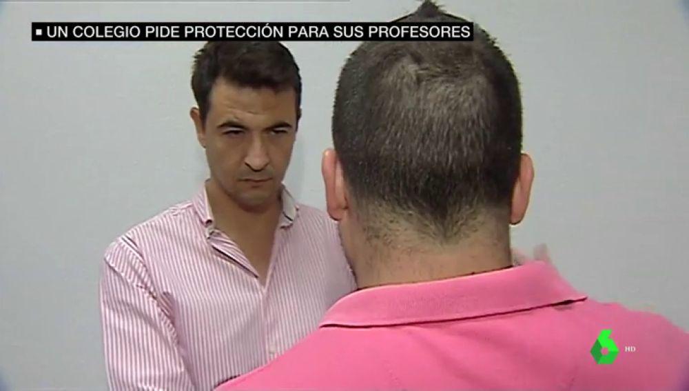 Profesor agredido por un padre en Puerto de Sagunto, Valencia