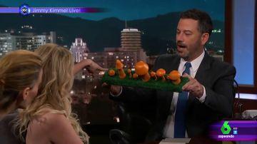 Stormy Daniels en el Show de Jimmy Kimmel