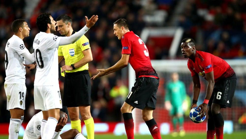 El Manchester United, ante el Valencia