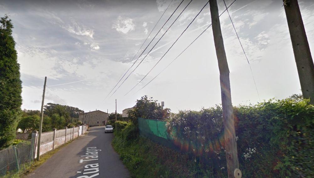 Imagen de la calle en la que se encuentra la casa donde han ocurrido los hechos