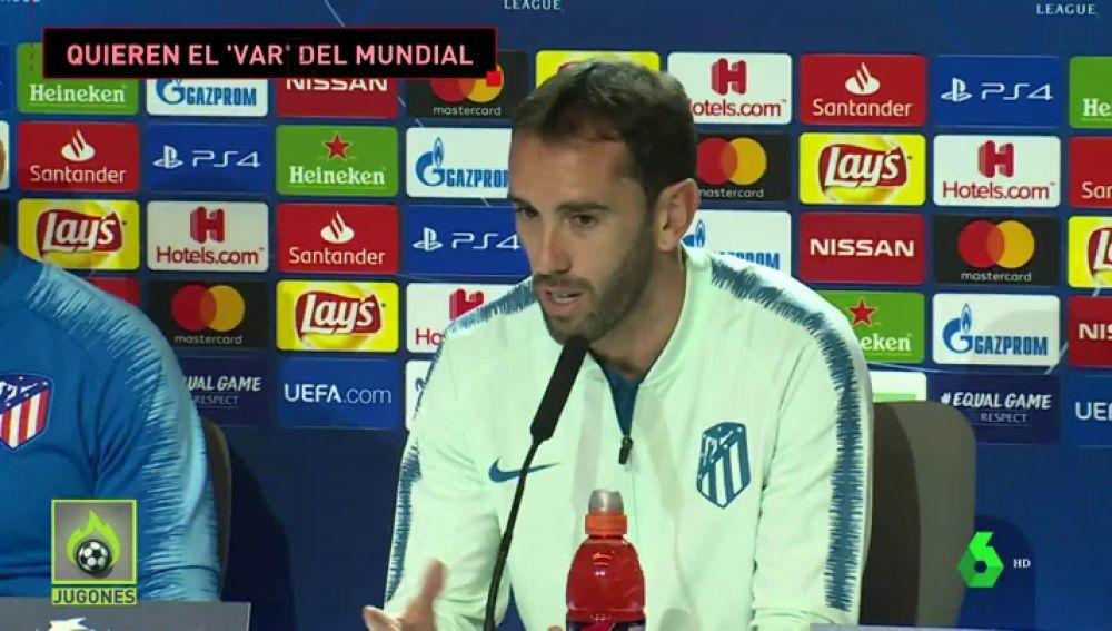"""El Atlético quiere el VAR de la Champions: """"En Rusia los árbitros se involucraban muchísimo más"""""""