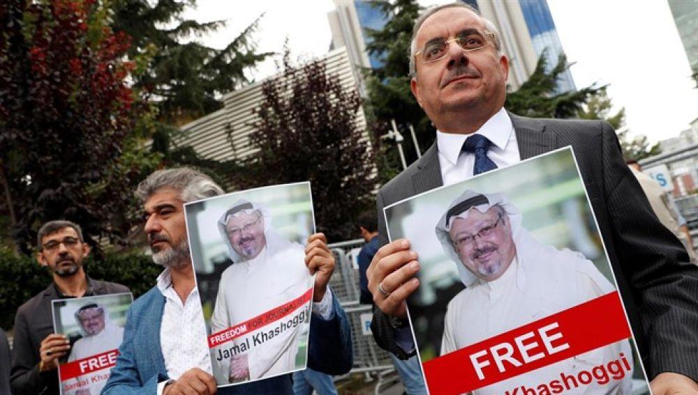 Creen que el periodista saudí grabó su muerte