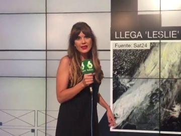 Leslie afectará al centro peninsular de madrugada y este domingo a Cataluña