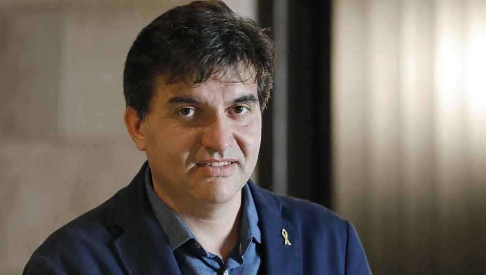 El presidente del grupo parlamentario de Esquerra, Sergi Sabrià
