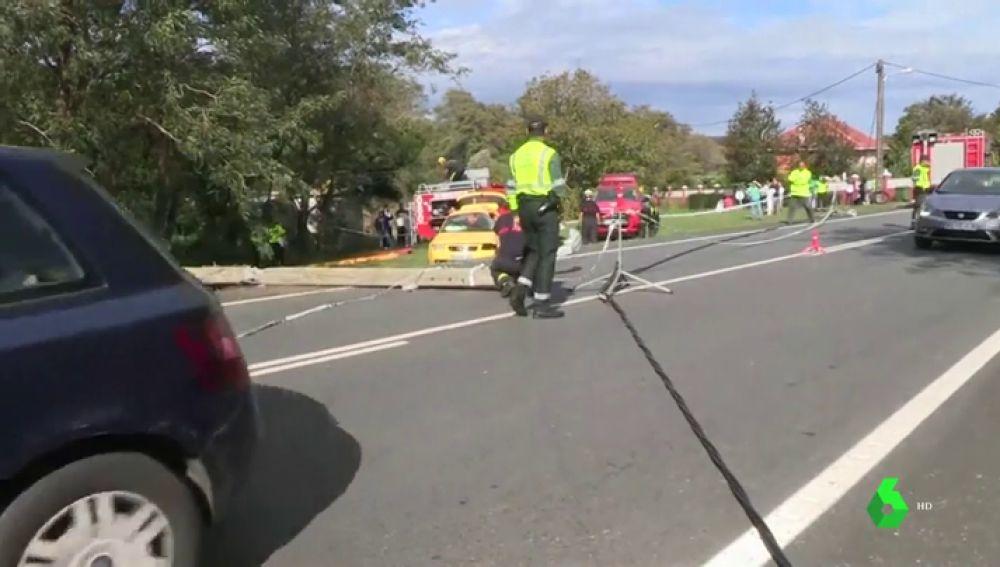 Accidente de tráfico en A Coruña