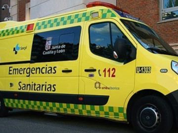 ambulancia de Castilla y León