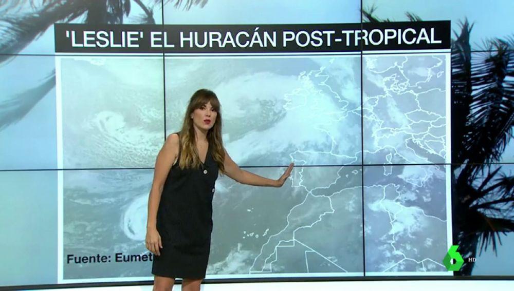 Galicia, Castilla y León y Andalucía: las regiones españolas que más sufrirán los efectos del huracán Leslie