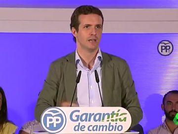 Casado en un acto del PP en Málaga