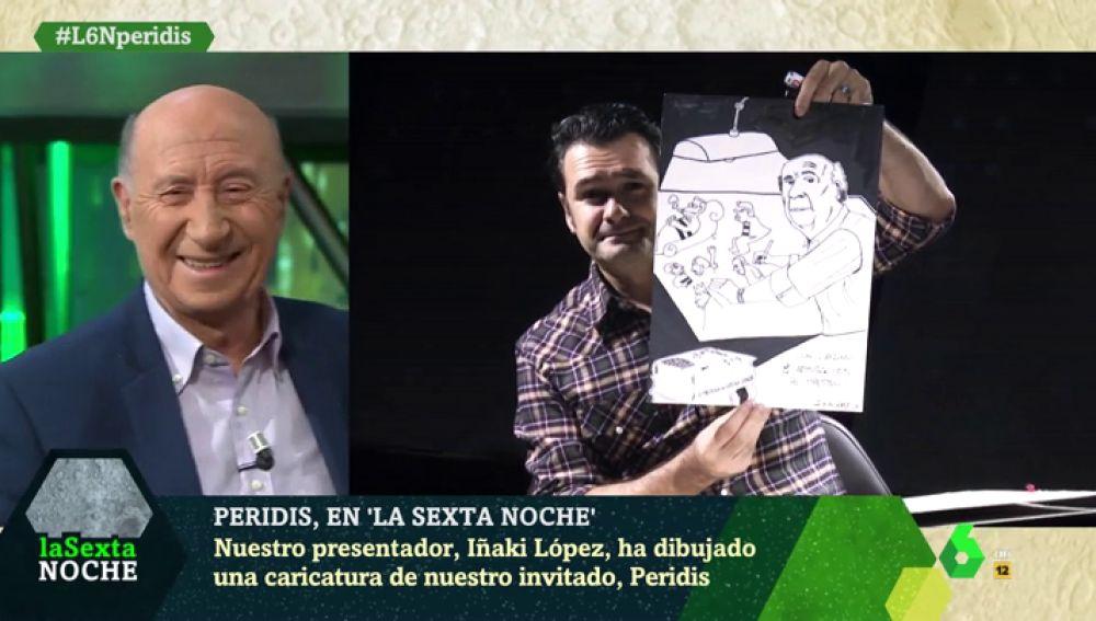 Retrato de Iñaki López del maestro Peridis