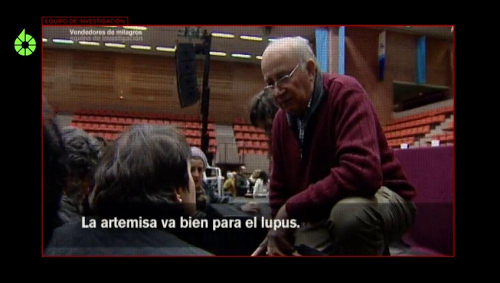 Equipo de Investigación graba a Josep Pàmies