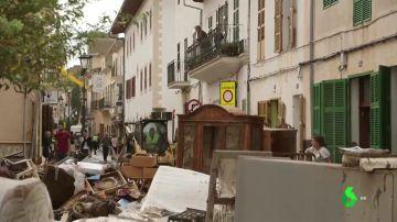 Destrozos tras las inundaciones de Mallorca