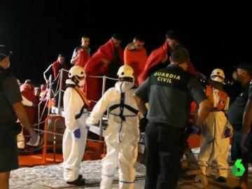 Más de 800 migrantes rescatados frente a las costas españolas en las últimas 48 horas