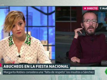 Cristina Pardo y Pablo Echenique