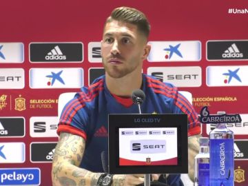 Sergio Ramos habla en rueda de prensa