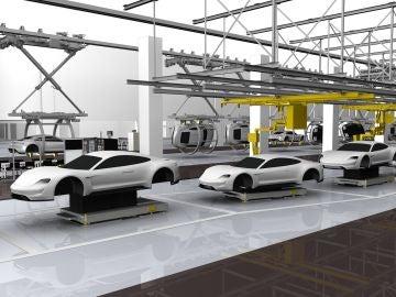 Futura factoría de Porsche en Zuffenhausen