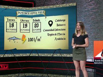 Isabel Zubiaurre explica en ARV las previsiones meteorológicas