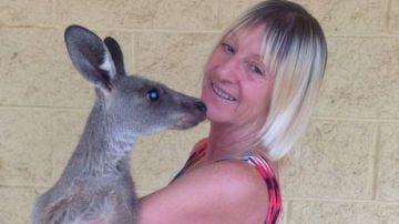 Linda Smith, la mujer atacada por un canguro en Australia