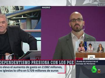 Antonio García Ferreras y Nacho Álvarez