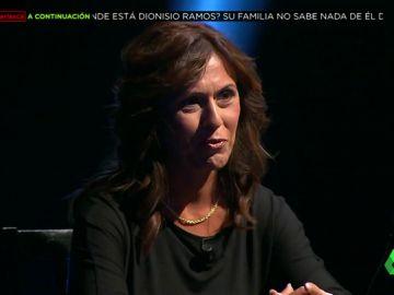 Nuria, hermana del desaparecido Dionisio Ramos