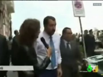 """Salvini afirma que la UE arruinó a Italia y carga contra Juncker: """"Solo hablo con personas sobrias"""""""