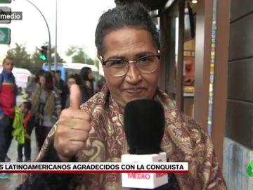 """Los latinoamericanos, agradecidos con la conquista: """"Ahora puedo comprar carne en el supermercado en vez de ir a cazar"""""""