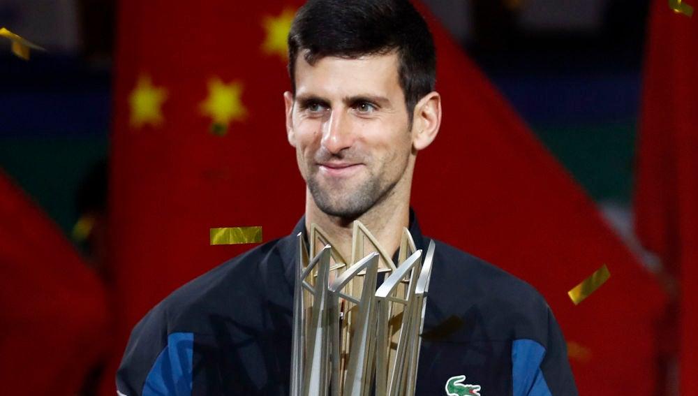 Novak Djokovic gana el Máster 1000 de Shanghai