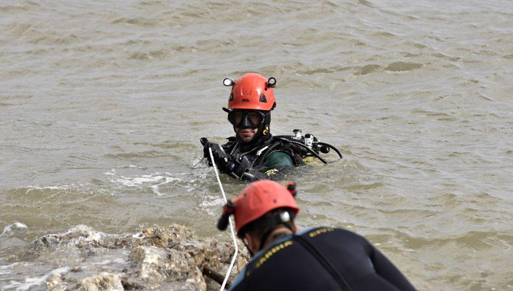 Continúa la búsqueda en la desembocadura del Torrente de Can' Amer