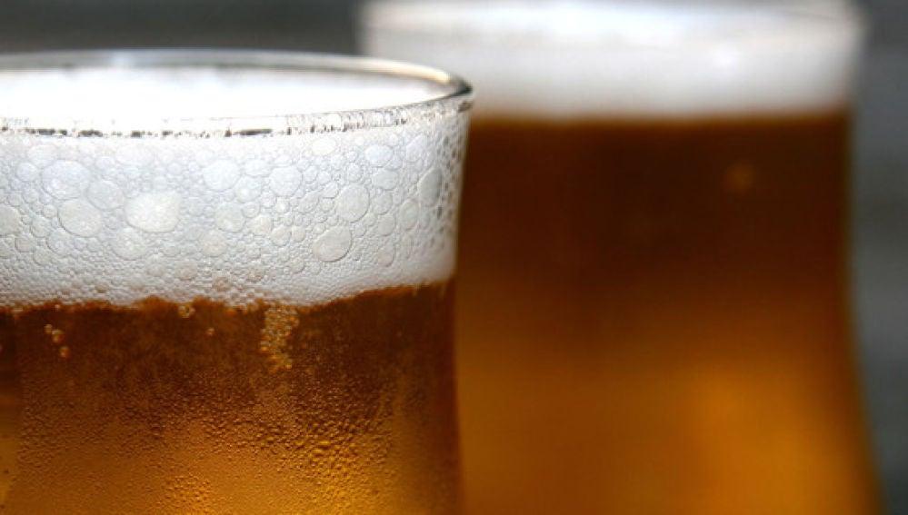 Imagen de archivo de jarra de cerveza
